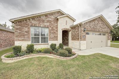 San Antonio Single Family Home New: 12646 Sweetgum