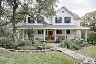 Bulverde Single Family Home New: 825 Old Boerne Rd