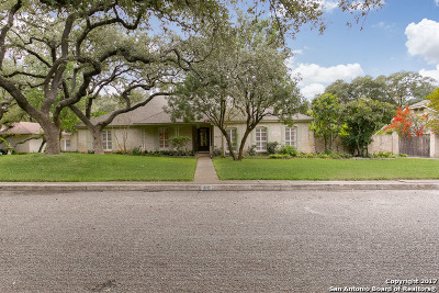 Bexar County Single Family Home New: 1610 Anchor Dr
