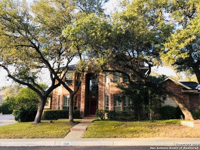 San Antonio Single Family Home New: 1519 Blackbird Ln