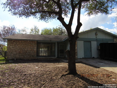 San Antonio Single Family Home New: 7330 Rubens