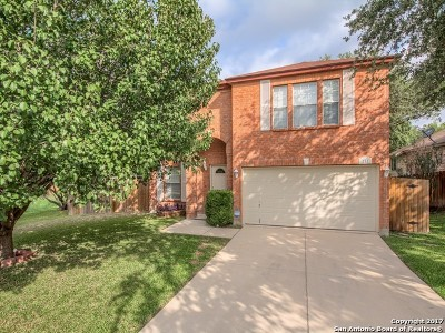 Bexar County Single Family Home New: 211 Clover Crk