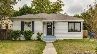 San Antonio Single Family Home New: 118 El Monte Blvd
