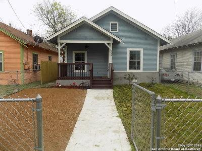 San Antonio Single Family Home New: 518 Virginia