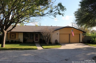 Schertz Single Family Home For Sale: 100 Webster Dr