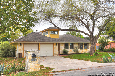 Seguin Single Family Home Active RFR: 139 High Country Dr