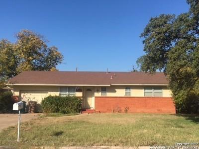 San Angelo Single Family Home New: 104 Penrose St