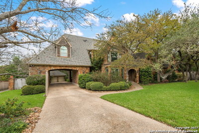 Bexar County Single Family Home New: 17210 Eagle Star