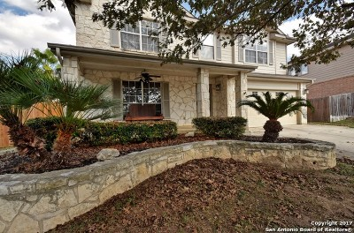 Schertz Single Family Home New: 3688 Gamble