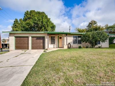 San Antonio Single Family Home New: 303 Stockton Dr