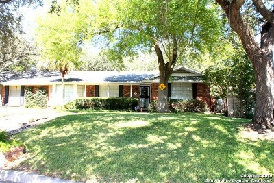 San Antonio Single Family Home New: 5307 Ben Hur Dr