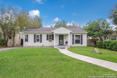 San Antonio Single Family Home New: 358 North Dr