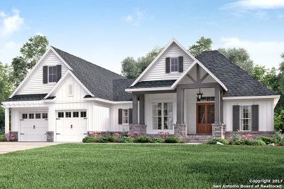 San Antonio Single Family Home New: Lot 6 Block 2 Hogan