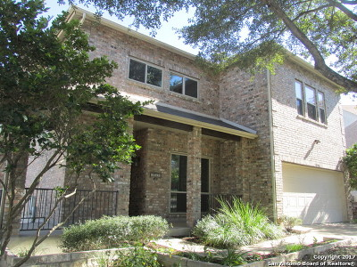 San Antonio Single Family Home New: 18506 Paloma Wood
