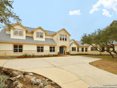 San Antonio Single Family Home New: 27844 Smithson Valley Rd