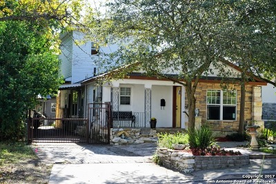 Olmos Park Single Family Home For Sale: 208 E Melrose Dr