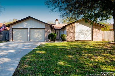 San Antonio Single Family Home New: 14018 Tree Crossing St