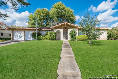 San Antonio Single Family Home New: 4119 Springview Dr