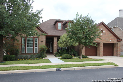 San Antonio Single Family Home New: 1734 Montecino