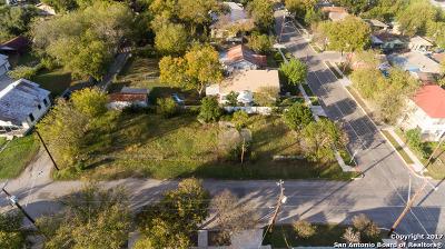 San Antonio Residential Lots & Land New: 1131 S Mesquite