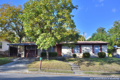 San Antonio Single Family Home New: 4523 Newcome Dr