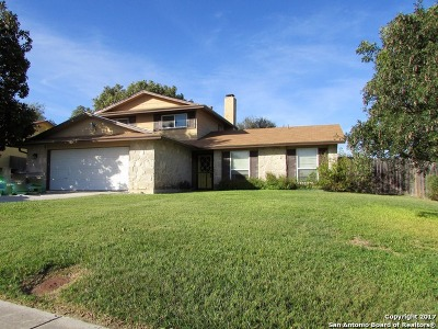 San Antonio Single Family Home New: 5515 Castle Pond Dr