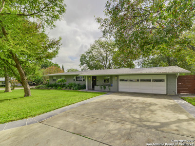 San Antonio Single Family Home New: 450 Burnside Dr