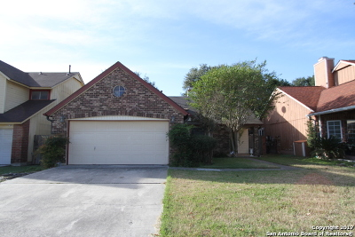 San Antonio Single Family Home New: 8211 Middle Pt