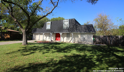 San Antonio Single Family Home New: 10718 Mossbank Ln
