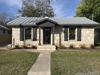 Boerne Single Family Home New: 518 E Theissen St