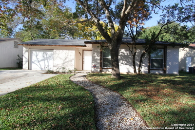 San Antonio Single Family Home New: 9423 Cliff Way St