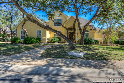 San Antonio Single Family Home New: 18422 Rustling Rdg