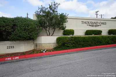 San Antonio Condo/Townhouse Back on Market: 2255 Thousand Oaks Dr #704