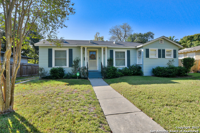 San Antonio Single Family Home New: 320 Harmon Dr