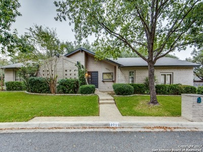 San Antonio Single Family Home New: 12711 Country Crst