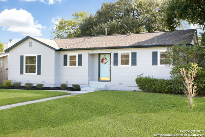 San Antonio Single Family Home New: 334 Irvington Dr