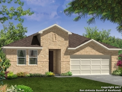 San Antonio Single Family Home New: 7402 Cove Way