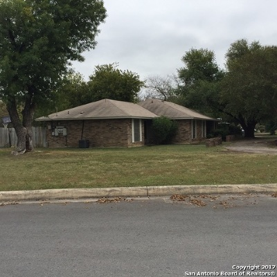 San Antonio Multi Family Home New: 1803 Jackson-Keller Rd