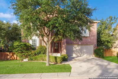 San Antonio Single Family Home New: 23710 Legend Crst