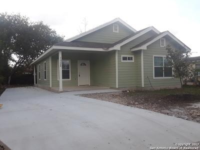 San Antonio Single Family Home New: 1502 E Chavaneaux Rd