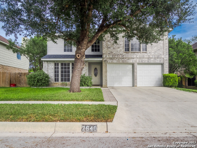 Schertz Single Family Home For Sale: 2640 Poplar Grove Ln