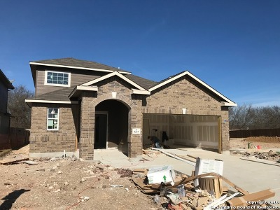 Selma Single Family Home New: 8219 Breezy Cove