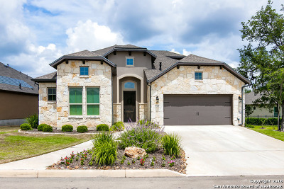 Cibolo Canyons Single Family Home Back on Market: 4720 Amorosa Way