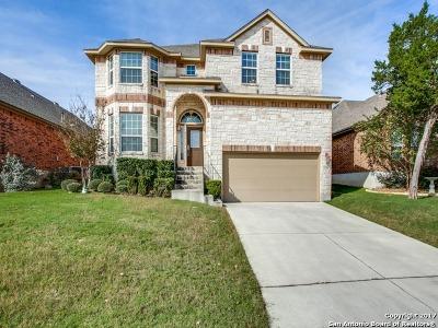San Antonio Single Family Home New: 23703 Sunset Peak