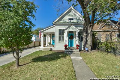 San Antonio Single Family Home Back on Market: 809 Labor St