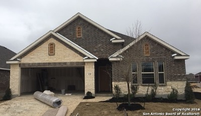 Boerne Single Family Home Price Change: 120 Destiny Drive