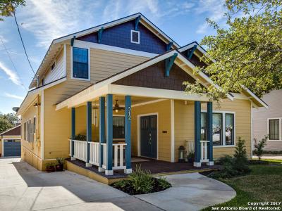 San Antonio Single Family Home For Sale: 312 Argo Ave
