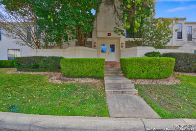 San Antonio Condo/Townhouse Back on Market: 2255 Thousand Oaks Dr #408