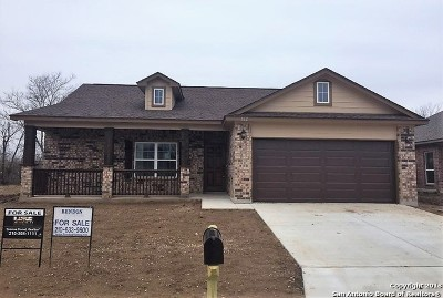 Seguin Single Family Home For Sale: 162 Greenway Dr