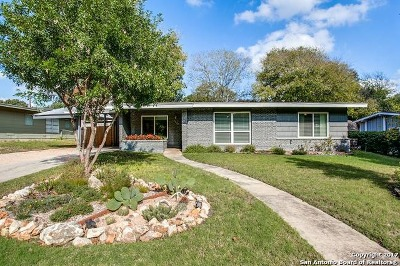 San Antonio Single Family Home Back on Market: 2823 Sir Phillip Dr